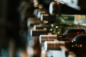 Several bottles of wine at 101 wine Press in Prunedale