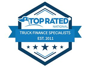 Logo for top rated national truck finance specialists, established 2011
