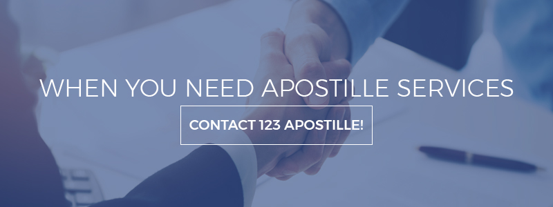 apostille service - how to apostille a document