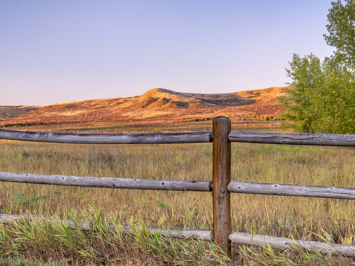 Scenery in Northern Colorado.