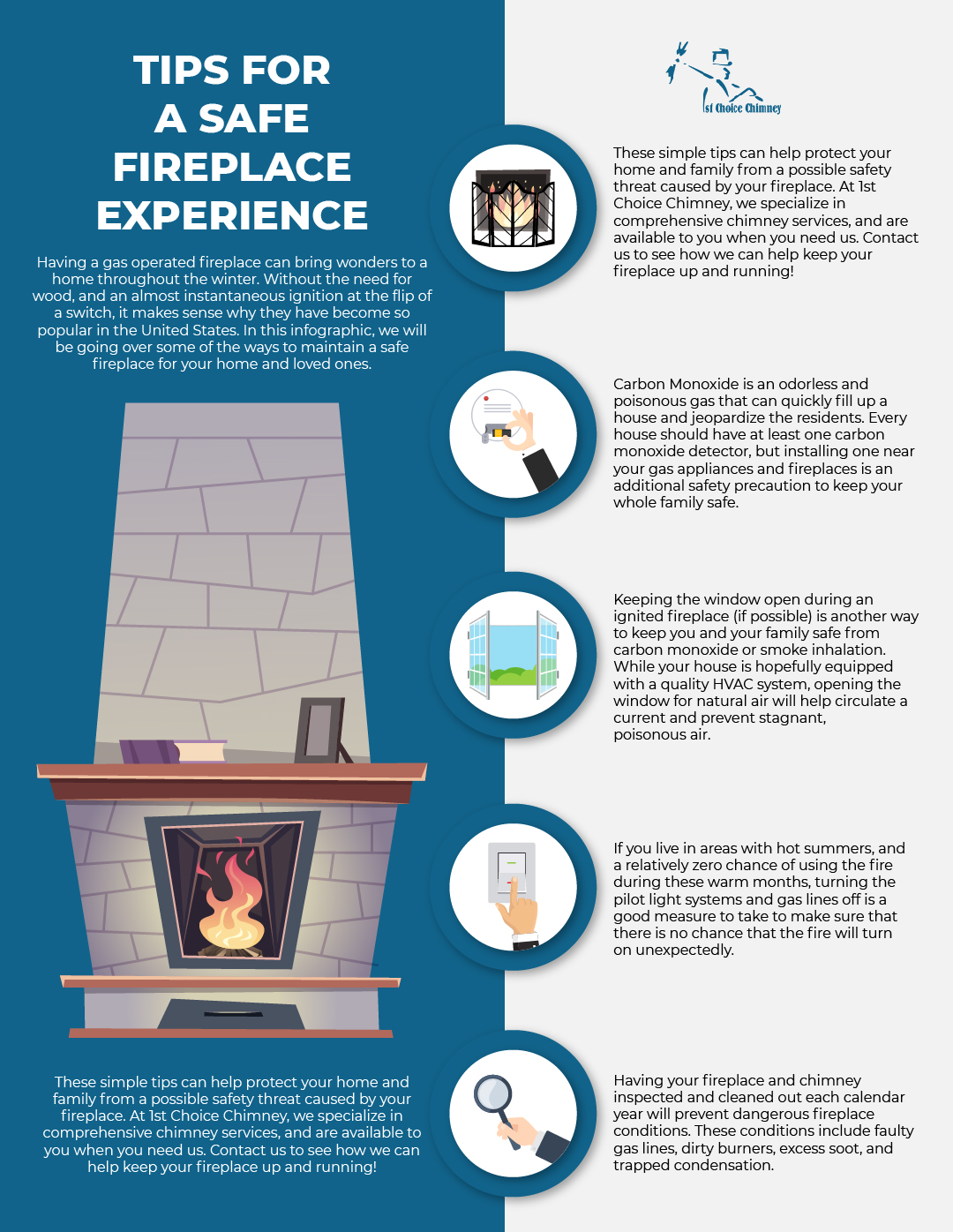 Troubleshooting Gas Fireplaces Won T Light 1st Choice Chimney