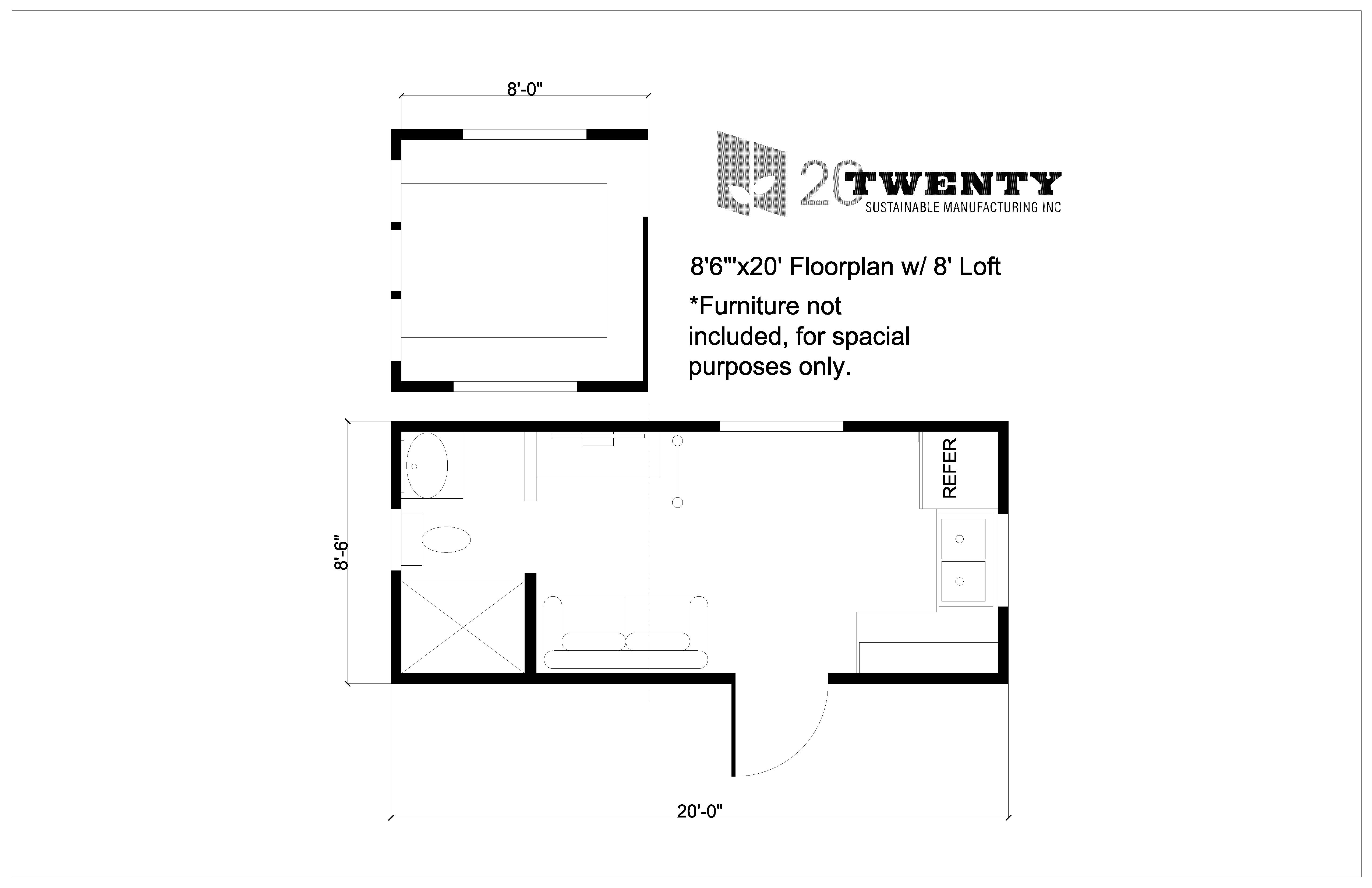 Tiny Home 8'6