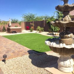 Artificial lawn in Phoenix by 21st Century Grass