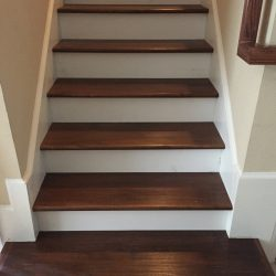 Give your stairs a makeover with hardwood flooring from 2 Day Flooring.