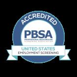 PBSA Accredited Background Check Company