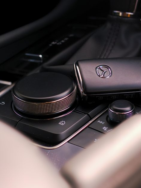 key fob and center console