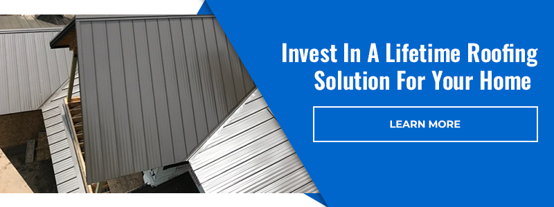 Invest in a lifetime roofing solution for your home. Learn more!