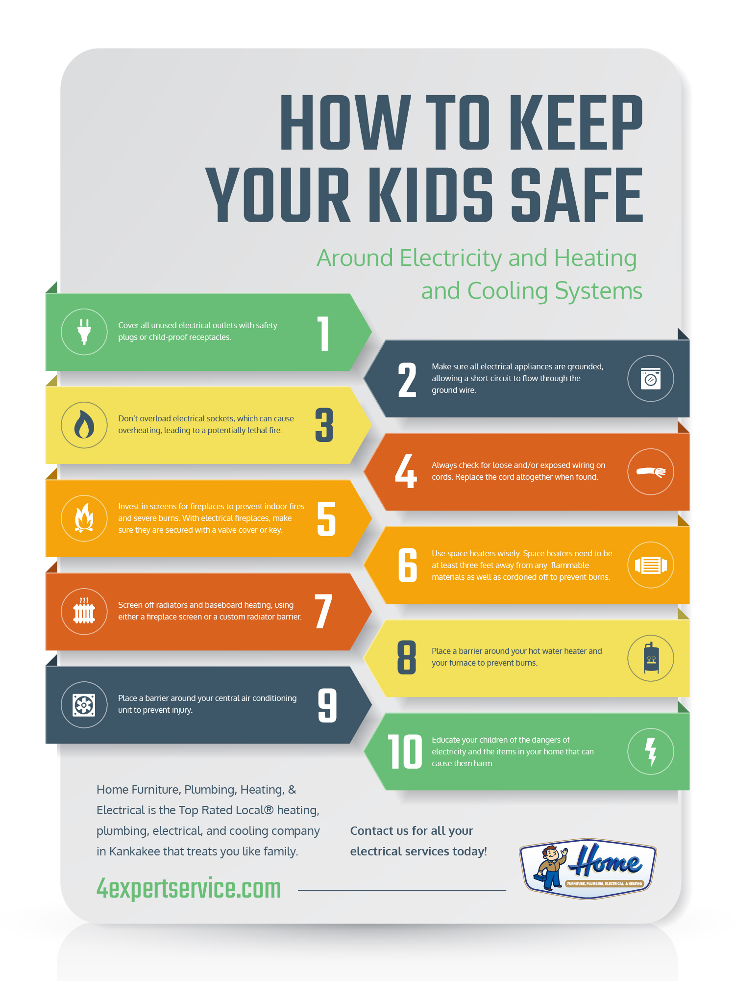 Electrical Services Kankakee Kids And Safety In The Home