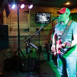Country music singer at our restaurant with live music - The 4 Way Bar and Grill
