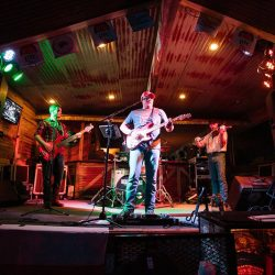 Country music band playing at our bar and grill - The 4 Way Bar and Grill