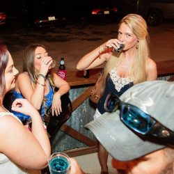Group of women taking shots at our bar and grill - The 4 Way Bar and Grill