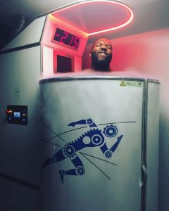 Russel Okung Denver Broncos use Whole Body Cryotherapy