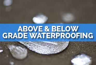 Above & Below Grade Waterproofing | A1 Roofing & Waterproofing