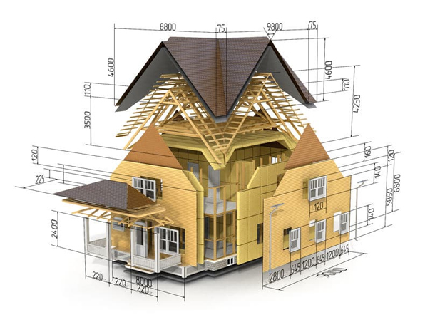 house sketch roofing