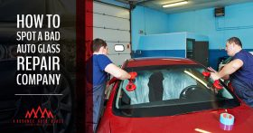 Find the right auto glass repair company for you