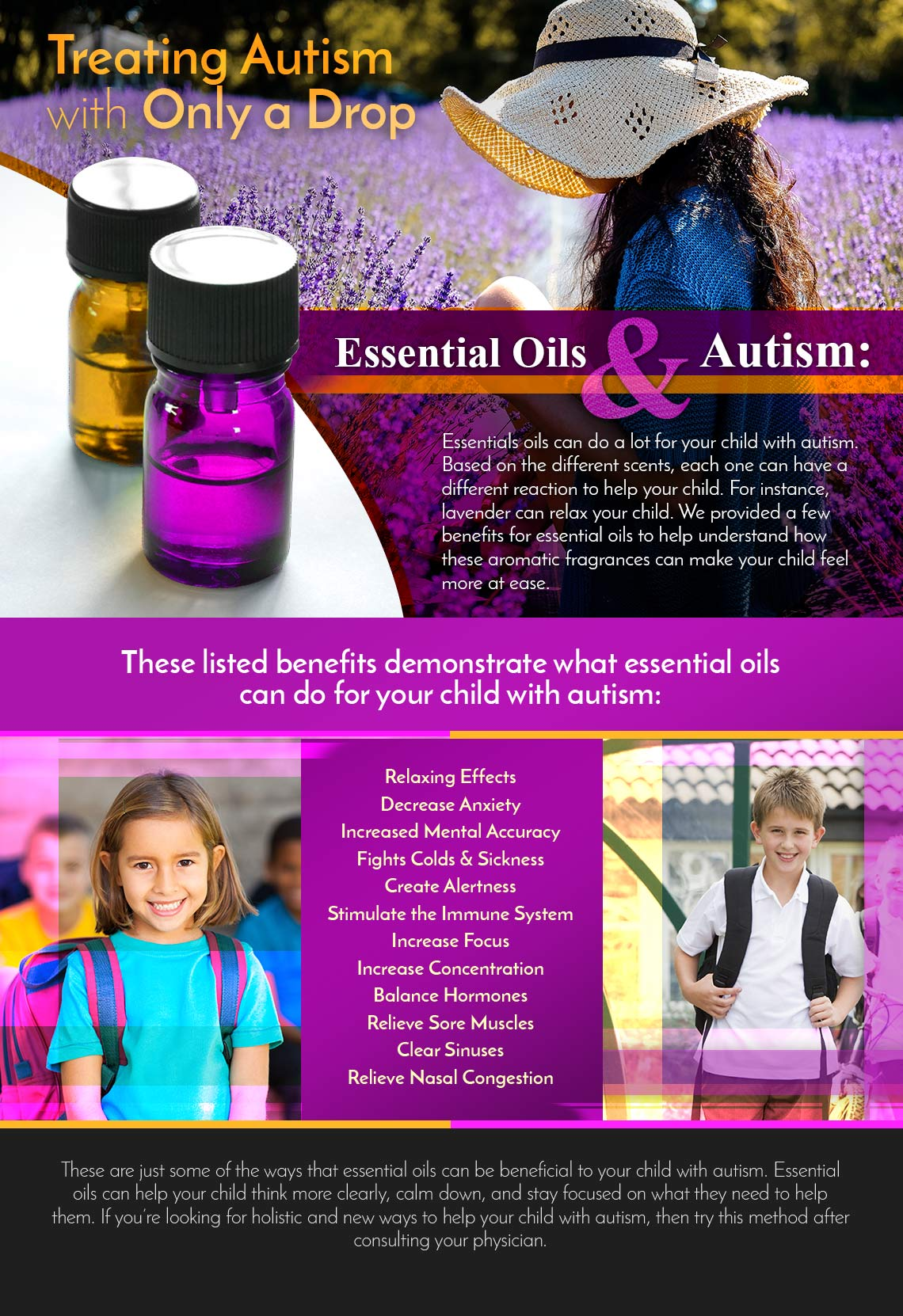 Essential Oils And Autism Treating Autism With Only A Drop The Autism Academy