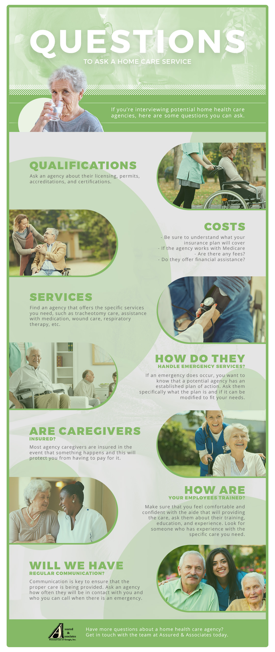 Questions to ask your home health care agency in Atlanta