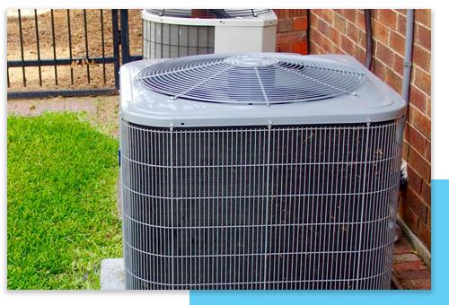 Outdoor AC Condenser Unit