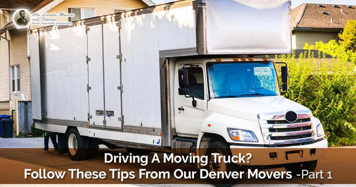 Residential Moving Denver: Moving Truck Tips From Your