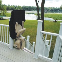 Outdoor Stairlift With Weather Cover