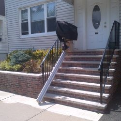 Outdoor Straight Rail Stairlift