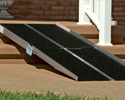 Portable Black Outdoor Wheelchair Ramp