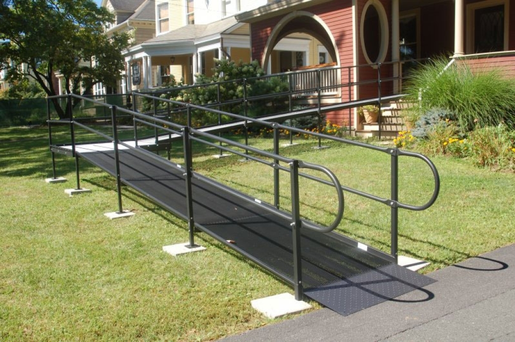 gallery view residential wheelchair ramp photos able care group nj