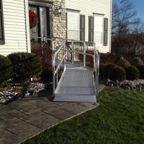 Metal Residential Wheelchair Ramp