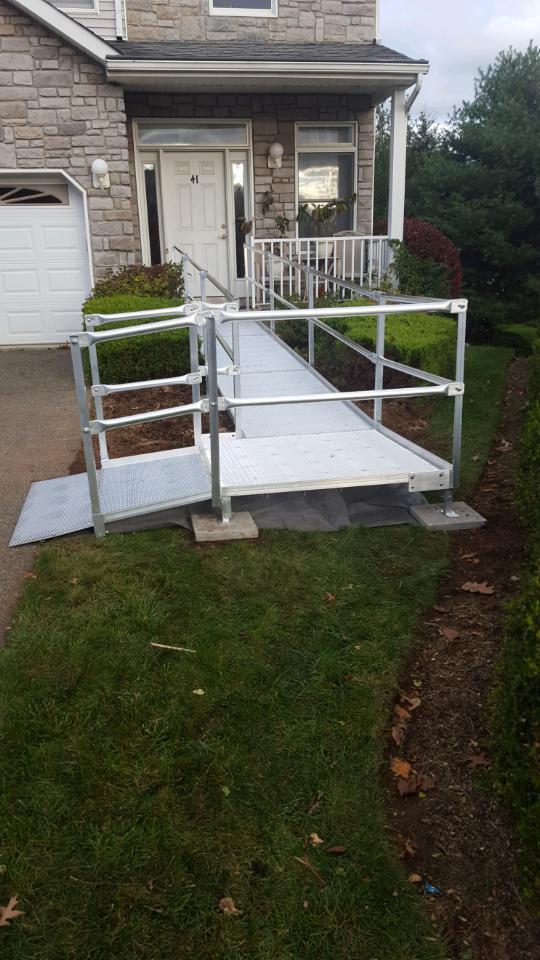 ... Aluminum Wheelchair Ramp