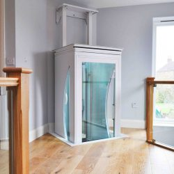 Home With Elevator Installation