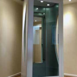 Interior Accessibility Elevator With Door Closed
