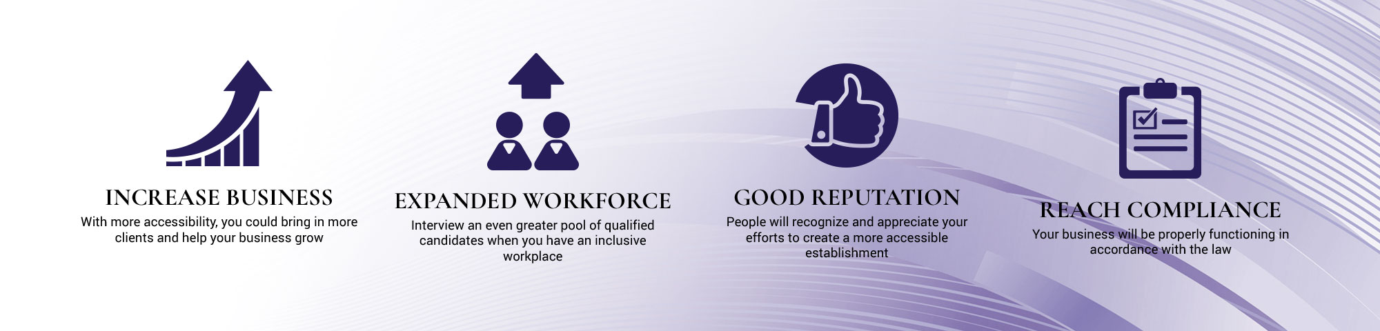 Benefits of ADA Compliance Infographic