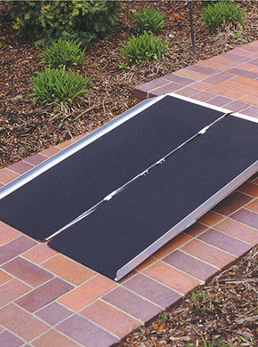 Single-Stair Wheelchair Ramp