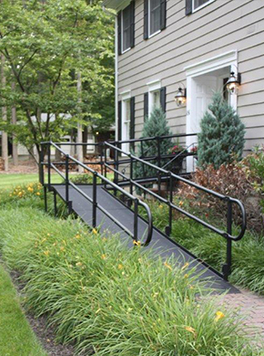 Metal Residential Wheelchair Ramp