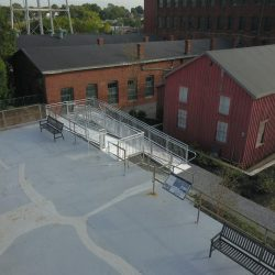 Wheelchair Ramp With Switchback