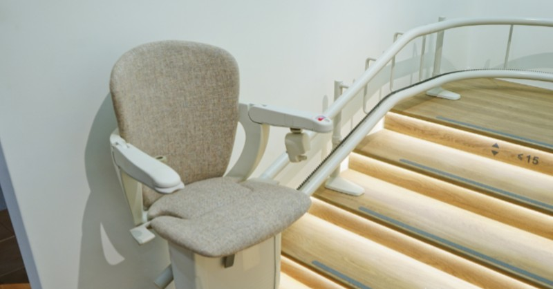 Rail-Mounted Stairlift