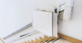 Wall-Mounted Stairlift