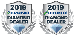 Bruno Diamond Dealer 2018 and 2019