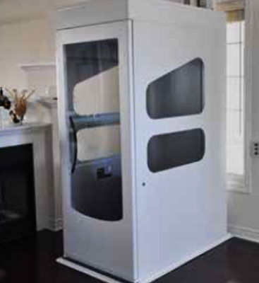 Indoor Accessibility Elevator in Living Room