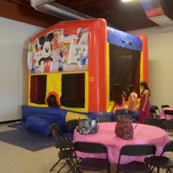 Bounce House at Kids Party Venue ABQPartySpace in Albuquerque
