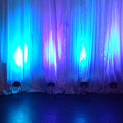 Beautiful Uplighting at Albuquerque Event Venue ABQPartySpace