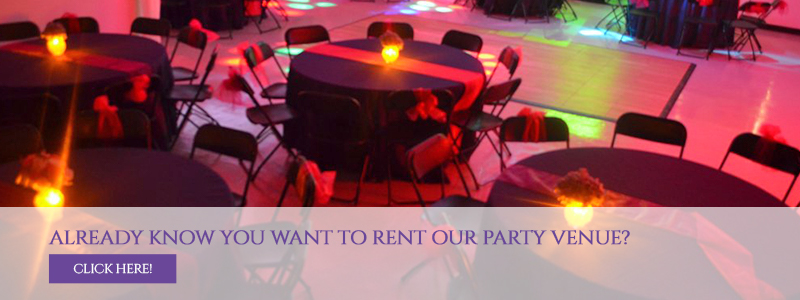 Rent Our Party Venue