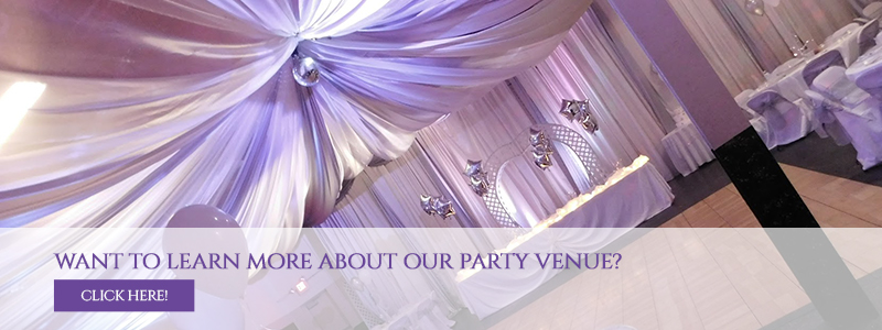 Want to learn more about our party Venue