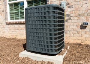 Outdoor Air Conditioning Condenser Unit Crystal Lake IL