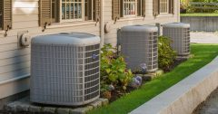 Outdoor AC Condenser Units