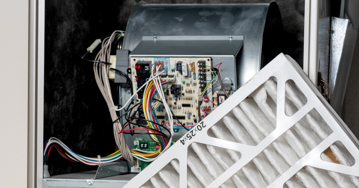 Furnace Circuit Board and Filter