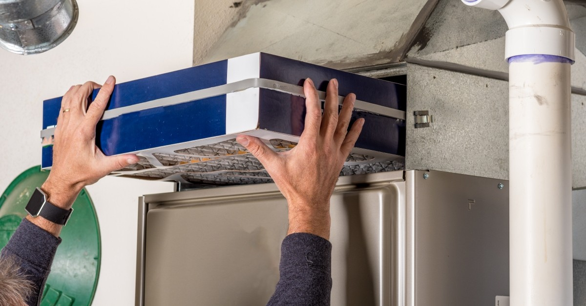 Replacing Large Air Filter