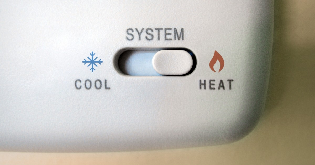 Thermostat Turned to Heat