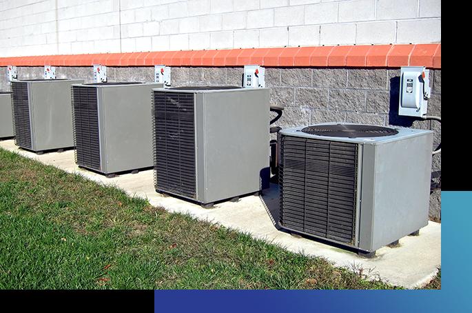 Outdoor AC Condenser Units