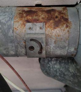 Old HVAC Damper